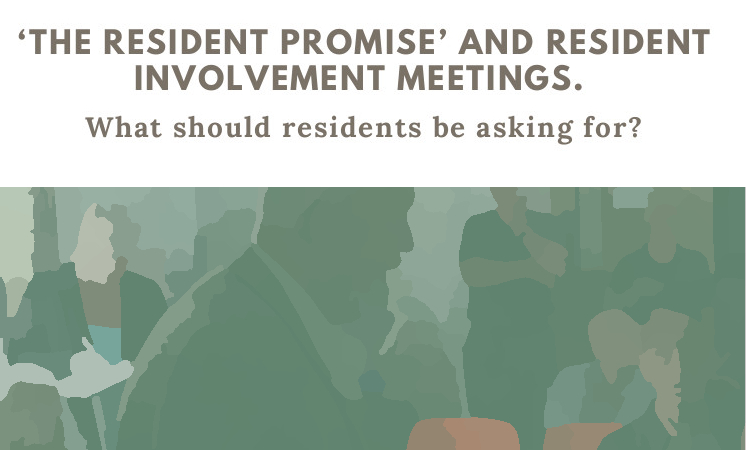 'The Resident Promise' and Resident Involvement meetings